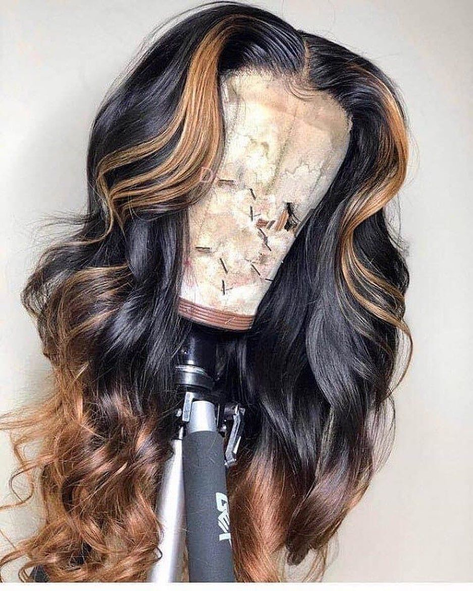 Fashion Ash Blonde Wigs For Women Lace Frontal Bblonde Bleach Ash Ombre Natural Platinum Blonde Hair Rose Gold Blonde Blonde Waves Lace Frontal Wigs Free Shipping