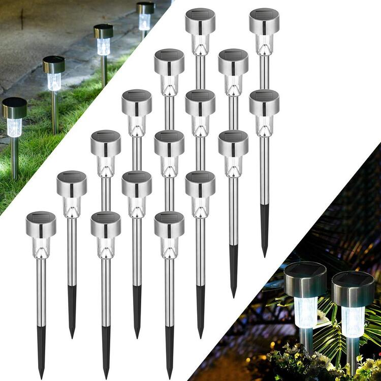 60% OFF>>Stainless steel solar lawn light