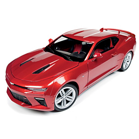 BUY 1 GET 2🚘1:18-Scale 2016 Chevrolet Camaro SS Diecast Muscle Car