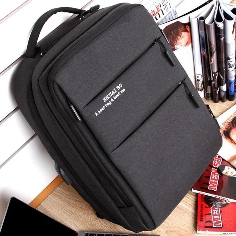 Business USB Charging Multifunction Laptop Backpack