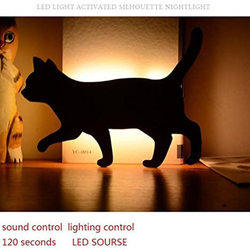 3D pattern sound control projection lamp - Battery or USB Powered