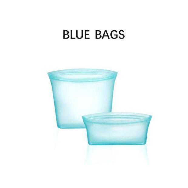 60% OFF -Reusable Silicone Food Storage Bags