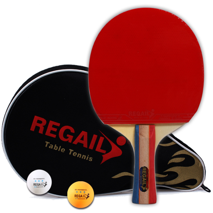 Portable table tennis racket