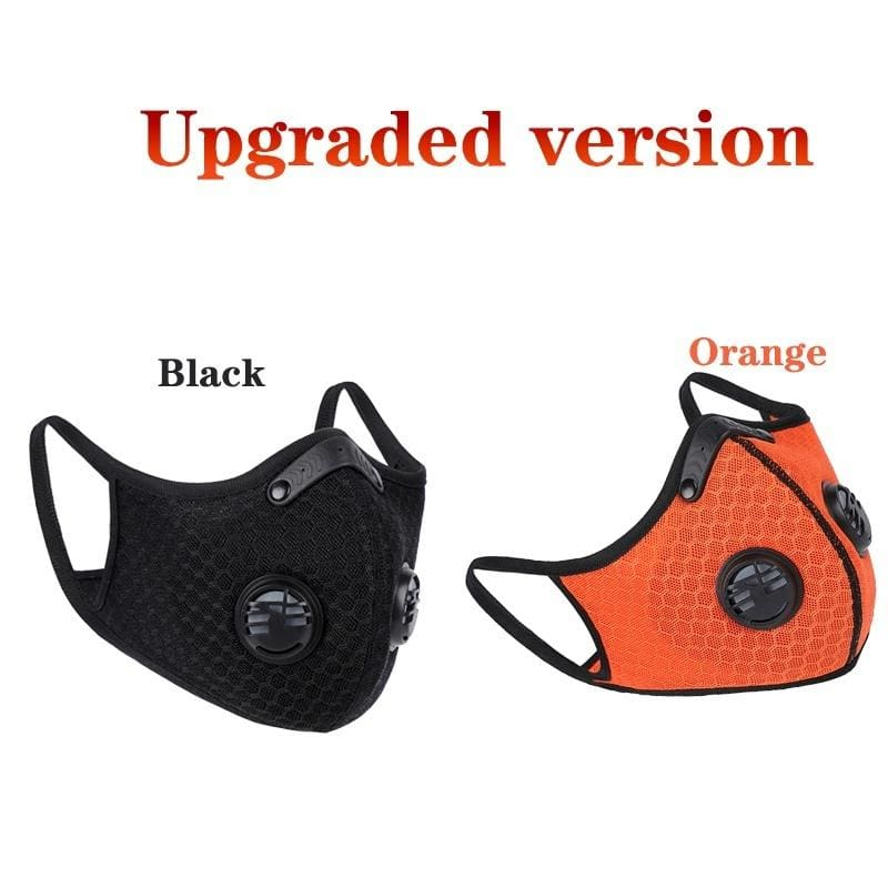 2020 Dust Mesh Mask Activated Carbon Filter Dust Odor Mask Anti-Fog Electric Mask Face Dust Gas Mask