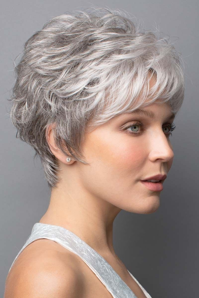 2021 New Lace Front Wigs Silver Gray Wigs On Sale White Peony For Hair Best Permanent Hair Color For Gray Hair