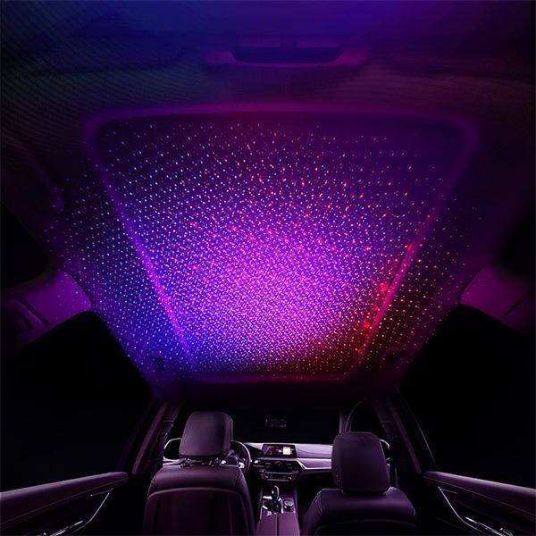 Hot Sale-Car USB Atmosphere Lamp Interior Ambient Star Light(Buy 2 Free Shipping )