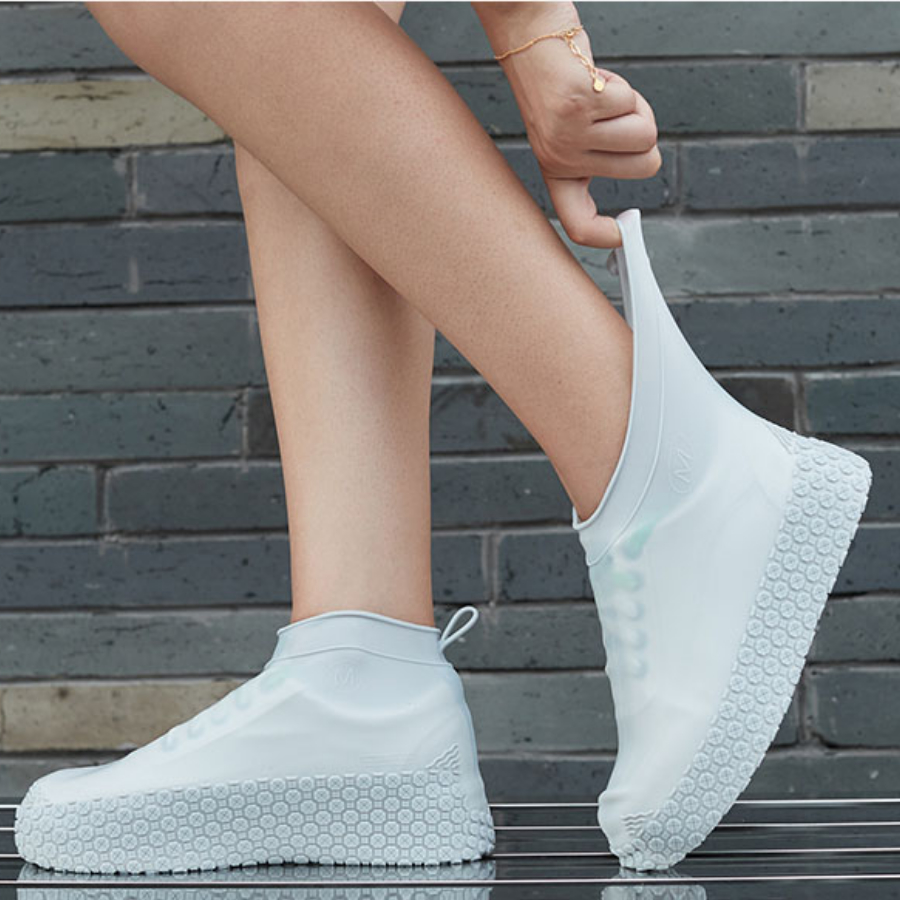 Reusable Boots Waterproof Shoe Cover Silicone