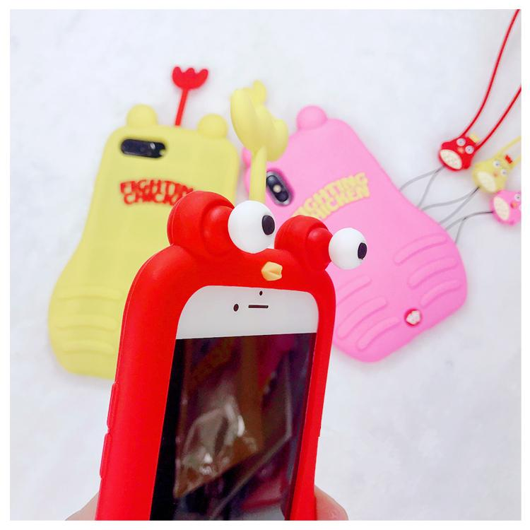 2019 [Iphone] Cute Decompression Soft silicone case