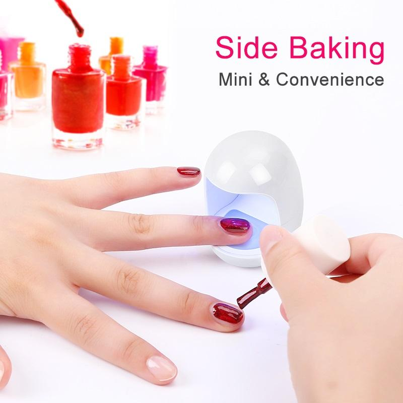3W Mini  UV Light for Gel Nails Polish Dryer