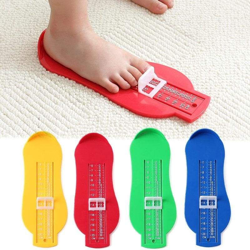 Children Baby Foot Shoe Size Measure Tool Infant Device Ruler Kit 8 Colors