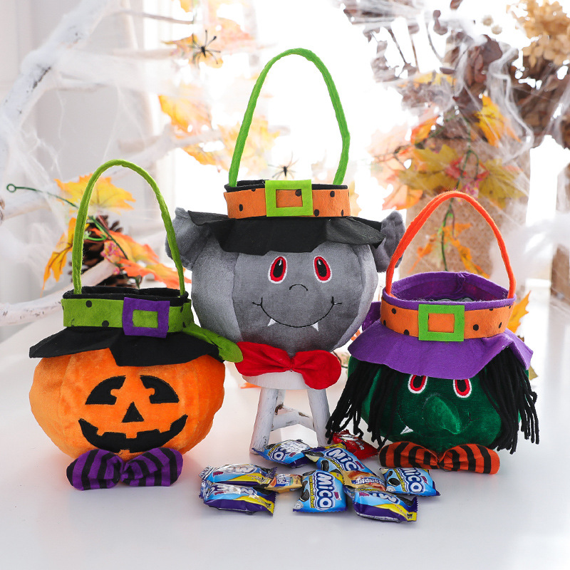 🔥50%OFF🔥Halloween Tote Bag For Children😍😍😍(Decorative or Practical)