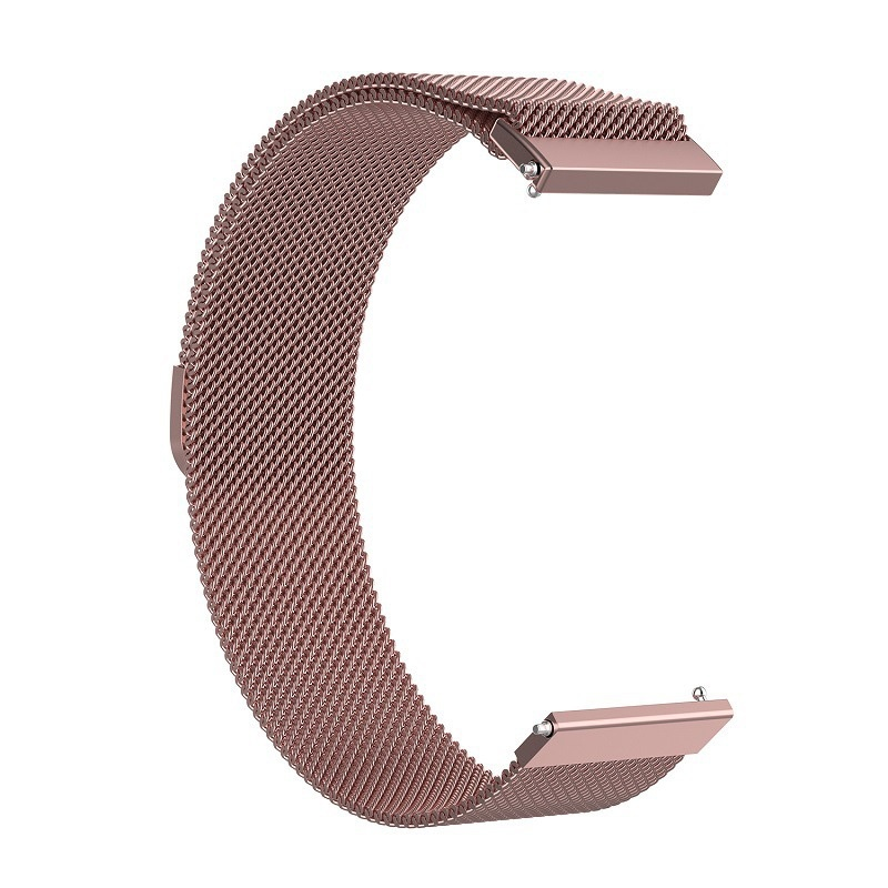 Stainless Steel Milanese Watch Band Strap for Samsung Gear S3 Huami Amazfit Pace
