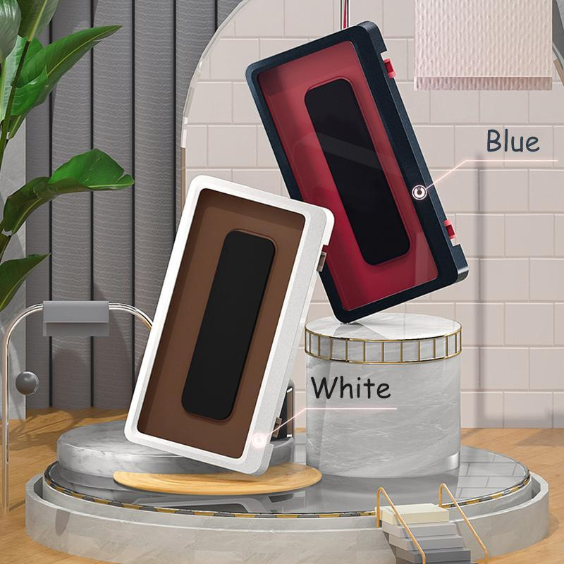 Wall-mounted mobile phone case