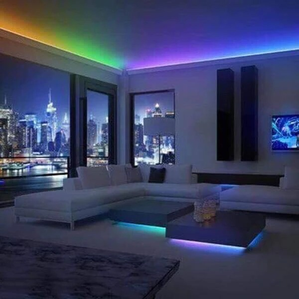 Color Changing Waterproof LED Light Strip (Remote Included)