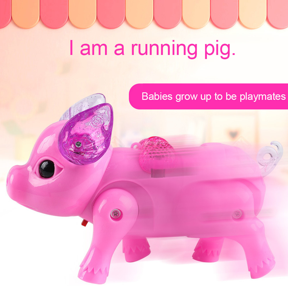 Electric Walking & Singing Musical Piggy Toy(1 PCS)