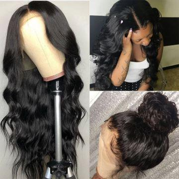 360 PRE PLUCKED FRONTAL WIG WITH BABY HAIR AROUND BODY WAVE