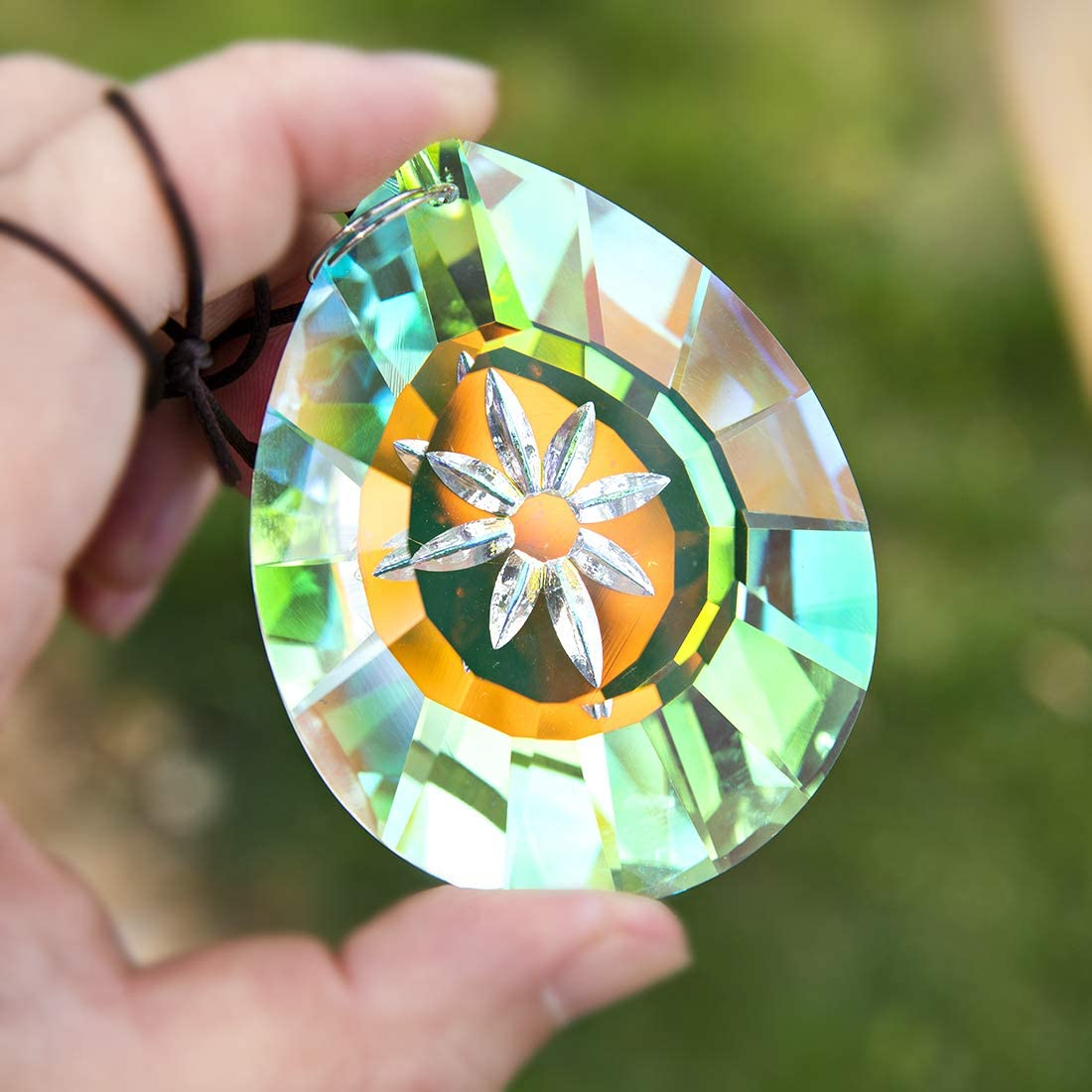 H&D Hanging Crystals Prism Suncatcher【ALL 6 STYLES - ONLY $4.9 EACH】
