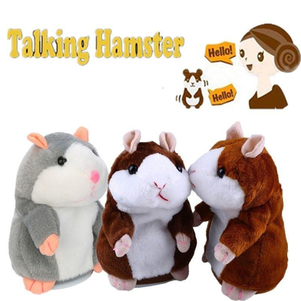 🔥50% OFF Today🔥Talking Hamster - Repeat Anything It Hears
