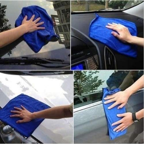 2/5/10Pcs Car Wash Towel 30x30 New Cloths Cleaning Duster Microfiber  Auto Care Detailing