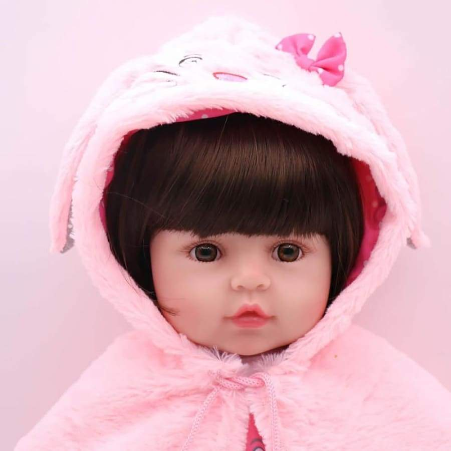 Reborn Baby Doll 48cm Lifelike Full Silicone Vinyl Body Newborn Dolls for Kids Birthday Christmas Gifts