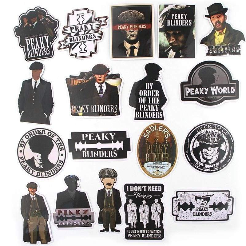 18 Pcs Men Fashion Cool Sticker Men Stickers for DIY Luggage Laptop Skateboard Car Motorcycle Stickers NC0187