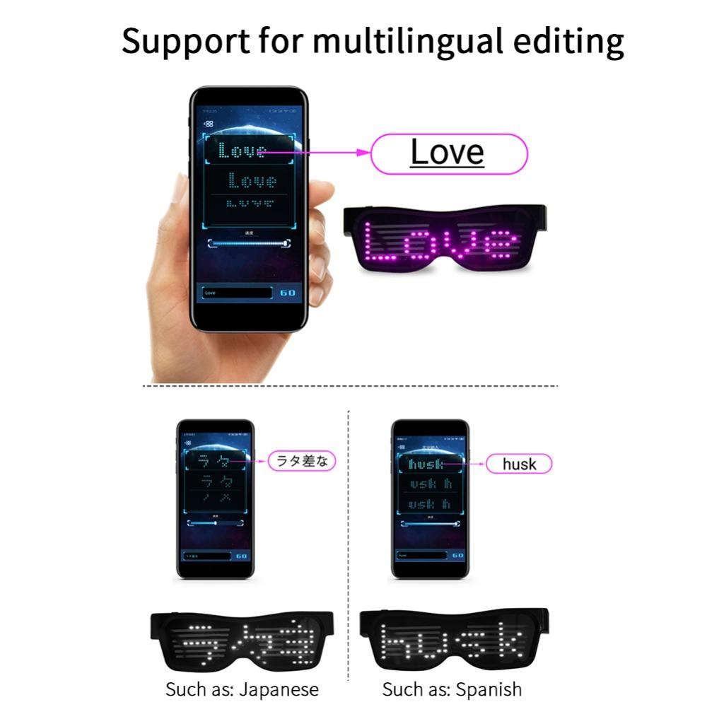【💝BUY 2 GET 15% OFF and FREE SHIPPING💝】Magic Bluetooth Led Party Glasses