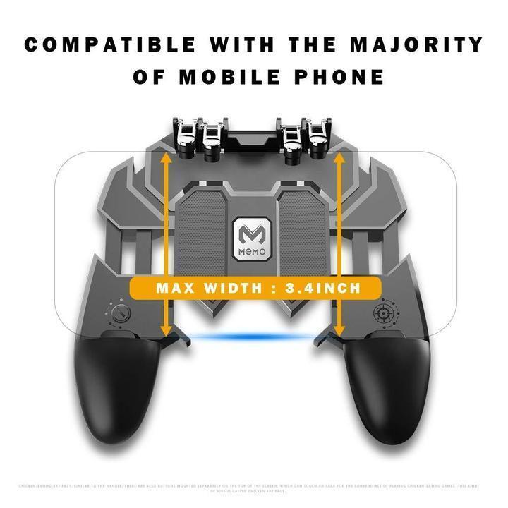 (Buy 2 Free Shipping) Shooting Game Gamepad/Controller [Six-Finger]--Trigger L1L2R1R2