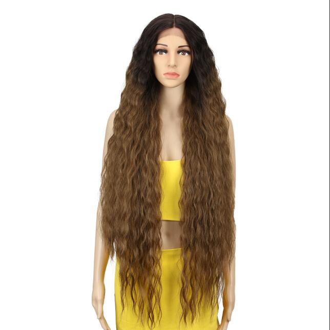 Lacwig® |  Synthetic Wigs For Black Women Long Curly Hair 42 Inch