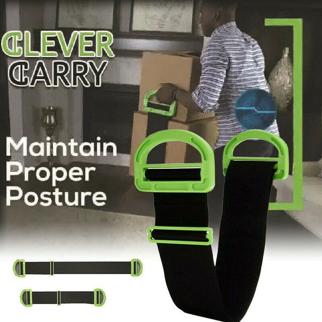Adjustable Moving&Lifting Straps Furniture Boxes Bulky Item Handle