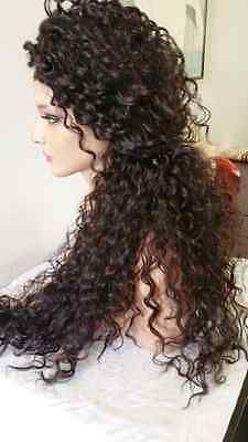 Lace Front Wigs Black Curly Hair Natural Red Wig 100 Virgin Human Hair Bundles 1920S Wig