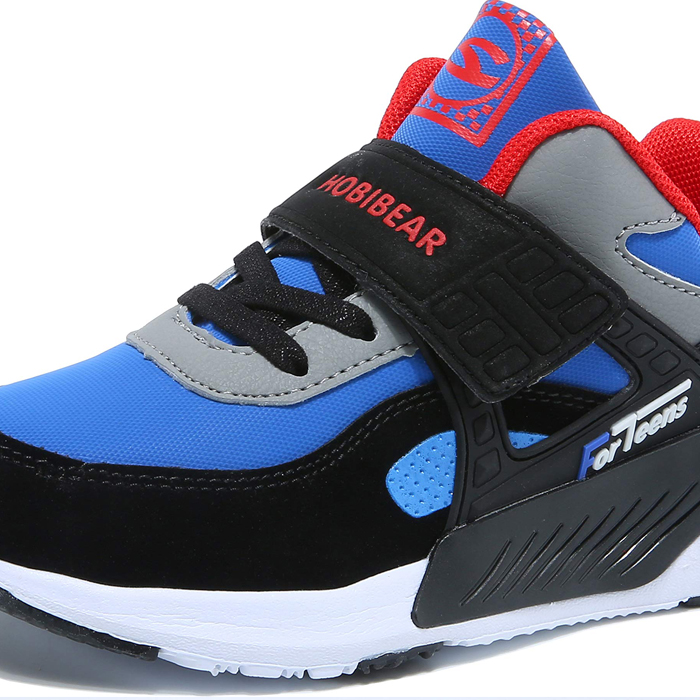 HOBIBEAR Kids Breathable Outdoor Hiking Sneakers Athletic Running Shoes for Boys & Girls