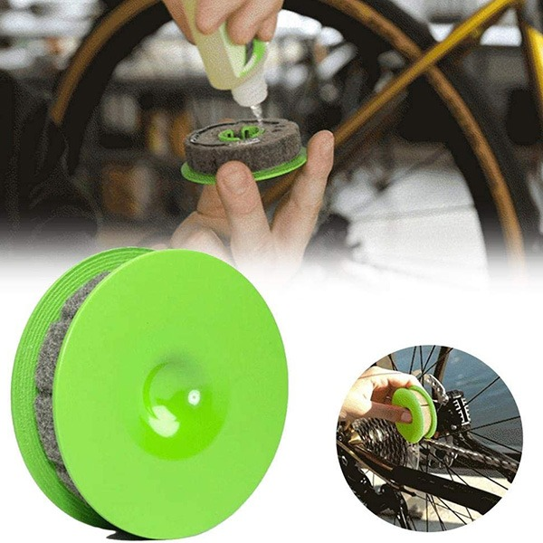 (🔥TODAY HOT SALE-50%OFF)Bike Chain Gear Oiler Roller--Buy 3 Get 10% OFF & Free Shipping