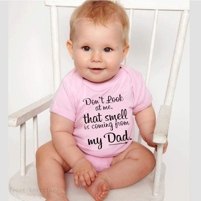 Newborn Baby Boy Girl Pink Romper Summer Short Sleeve Baby Life Letter Print One Pieces Outfits Sunsuit 0-24M