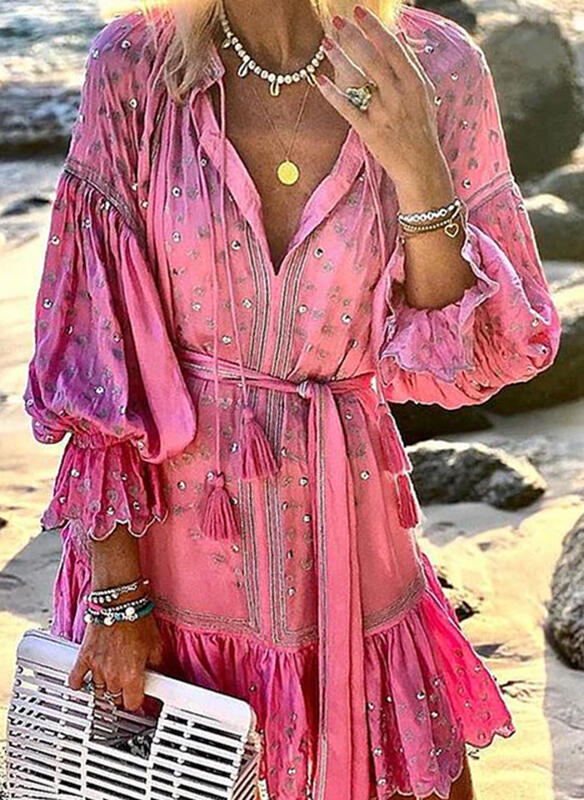 Sleeves A-line Above Knee Casual/Vacation Skater Dresses