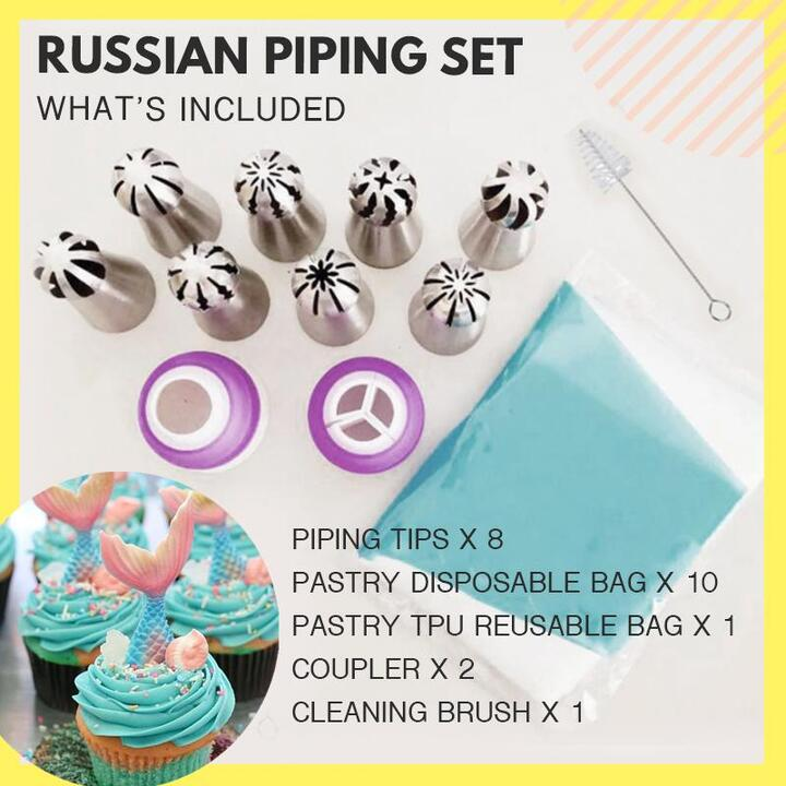 Cake Decor Piping Tips 🔥 Buy 2 Free Shipping