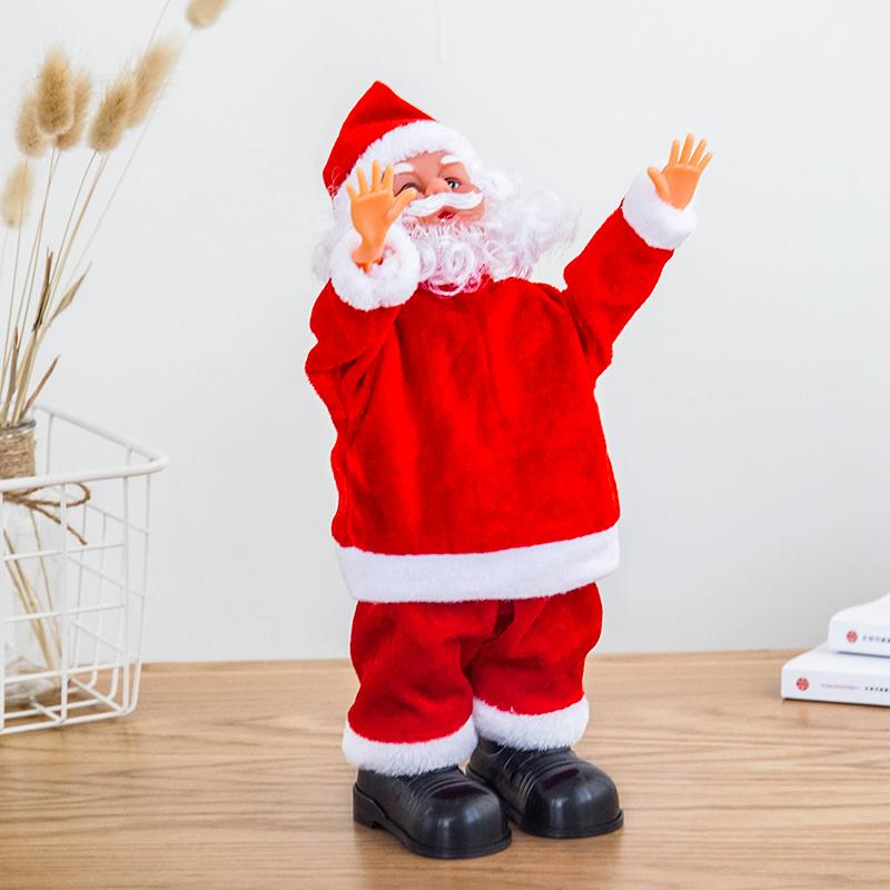 ( 50% off today only) 2019 hotsales Lovely  Santa Claus Christmas Ornament Present toys