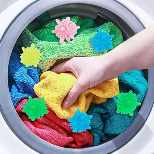 Solid Colorful Laundry Ball