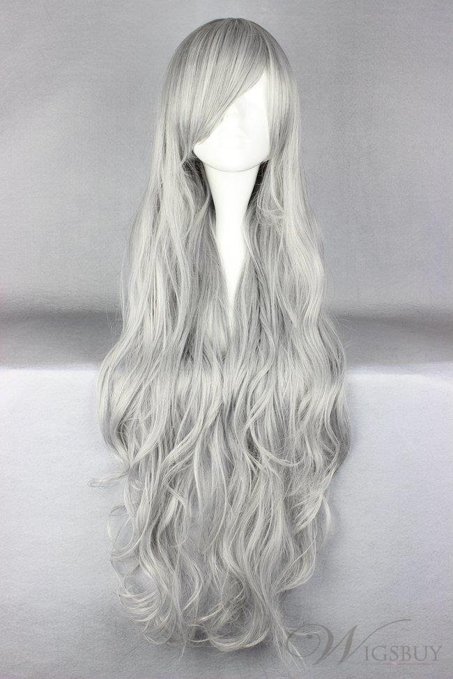 Gray Wigs Lace Frontal Wigs Gray Color ShampooGrey Hair 40