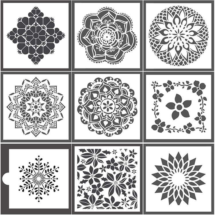 Wall Painting Template-Reusable Stencil For Painting Walls