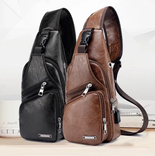 Leather Sling Bag ( A Christmas Surprise Buy 1 Get 1 )