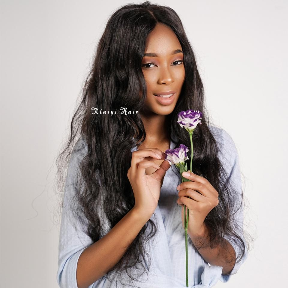 Black Wigs For Black Women Body Wave Quick Weave 30 Inch Water Wave Wig Capless Wigs For African American Korean Wavy Hairstyle