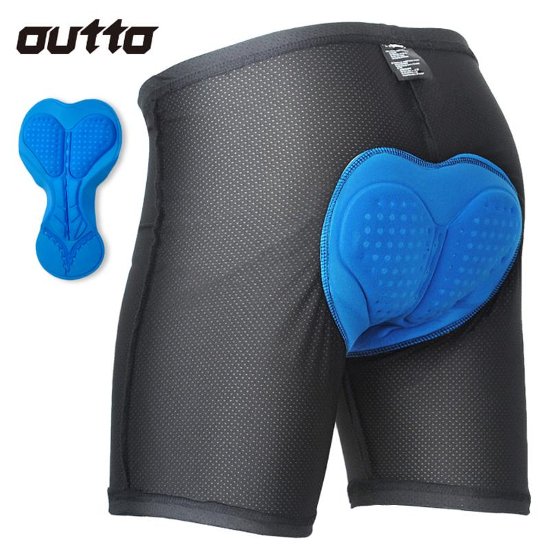 Breathable and quick-drying silicone cushion cycling jersey panties