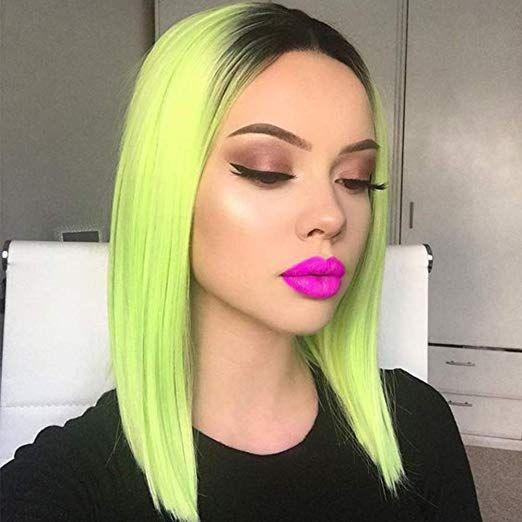 Green Wigs Lace Front Wigs Virgin Hair For Black Women Pink Synthetic Hair Cheap 360 Lace Wigs Human Hair Brown Wig Red Carpet Premiere Wigs Free Shipping