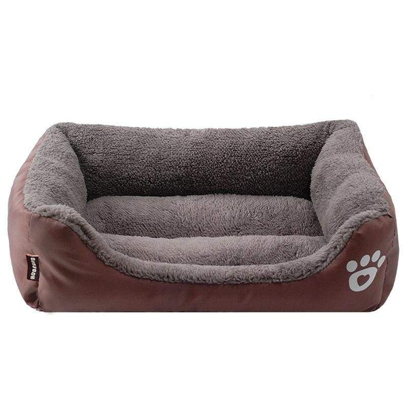 Small Large Pets Mat Dogs Warm Nest Beds Kennel Blue