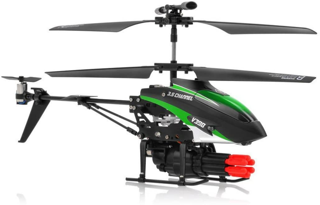 SkyCo New V398 3.5 Channel Missile Shooting RC Helicopter