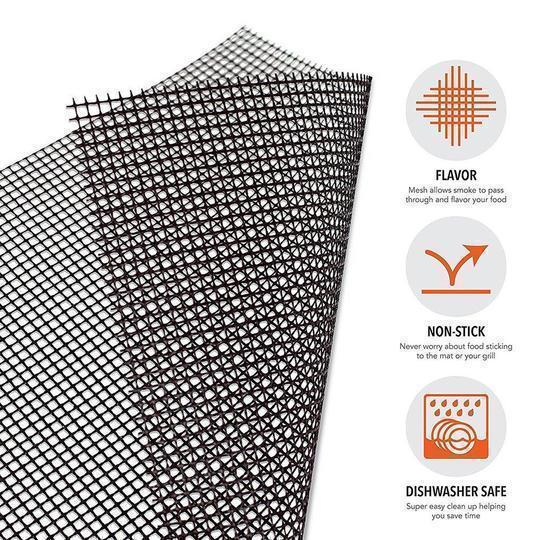 (💥New Year Flash Sale💥-48% OFF)Non-stick BBQ grill mesh mat(BUY 2 GET 1 FREE NOW!)