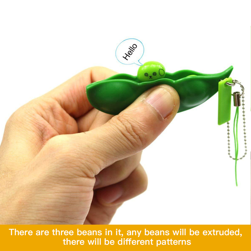 Squeeze Bean Keychain(Buy Two Get One Free,3pcs)