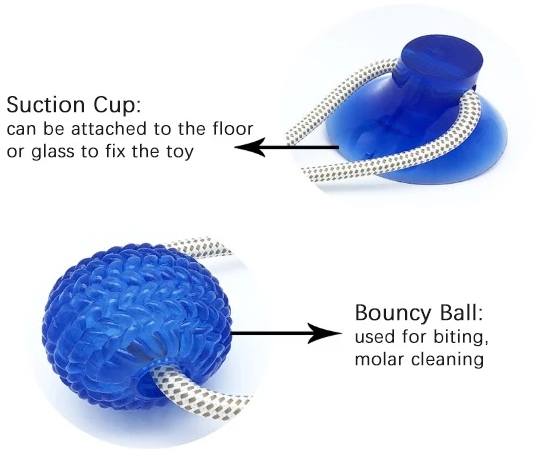 Multifunction Pet Molar Bite Toy ( Buy 2 Get Extra 10% Off )