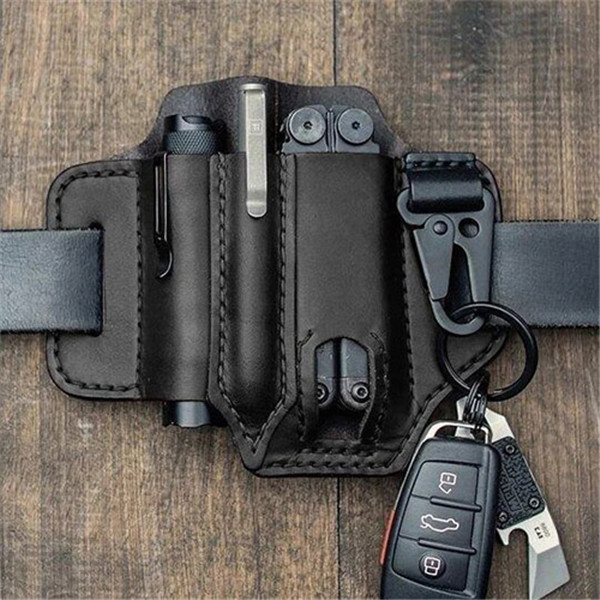 (Factory out 50% OFF) Multitool Leather Sheath