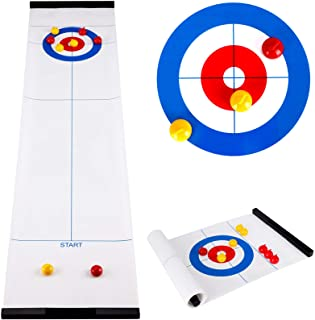 Family Game Indoor Curling Set suitable for children and adults-fun children's game